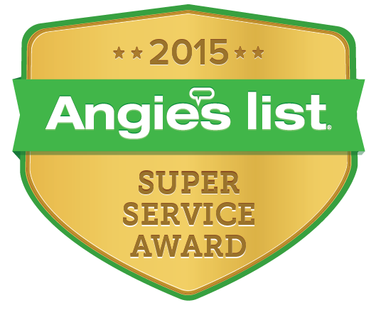 Angies List Water Heater Service Award