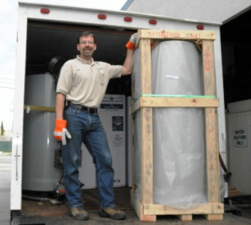 Commercial Water Heater Delivery