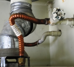 water heater shut off gate valve
